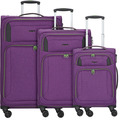 Hardware Airstream 4-Rollen Kofferset 3tlg. bright purple