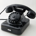 HDK Telefon W48, schwarz Nostalgietelefon