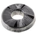 Helos Anschlusskabel 4-adrig, AWG28, schwarz, 100 m Ring