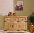 Henke Möbel Kommode 3-türig 120,5 x 82 x 35 cm