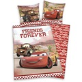 Herding Cars Bettwäsche Forever Friends mit RV / Zipper 80x80+135x200 cm