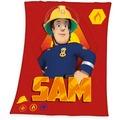 Herding Feuerwehrmann Sam Fleecedecke 130x160