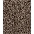 ilima Teppichboden Hochflor Velours PAMIRA/PRISCILLA braun 400 cm breit