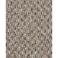 Hometrend Teppichboden Schlinge strukturiert beige/natur 400 cm breit