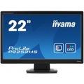 "Iiyama ProLite P2252HS-B1, LCD, 54,61 cm (21.5 ""), 1920 x 1080 Pixel - Full HD, schwarz"