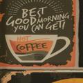 ilima Vinylboden PVC Steinoptik Schild Schrift Kaffee Coffee 200 cm breit