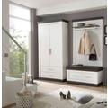 IMV Garderobenkombination Siena, weißbraun Garderobe 9PP2R4