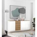 IMV Sideboard Cayman weiß 181 cm