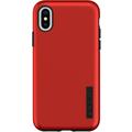 Incipio DualPro Case, Apple iPhone XS/X, iridescent rot/schwarz