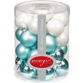 Inge Glas Kugel 30 mm, 27 Stk. Cool Mint