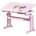 Inter Link Schreibtisch 'Cecilia' 109x55cm mit SL pink/weiss