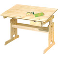 Inter Link Schreibtisch 'Julia' 109x55cm mit Sl farblos