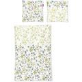 irisette biber lilo 8986 gelb Bettwäsche 135x200 cm, 1 x Kissenbezug 80x80 cm