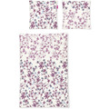 irisette biber lilo 8986 rosa Bettwäsche 135x200 cm, 1 x Kissenbezug 80x80 cm