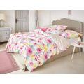 irisette mako-satin corado 8997 pink Bettwäsche 135x200 cm, 1 x Kissenbezug 80x80 cm