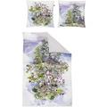 irisette Mako-Satin juwel-k 8805 multi Bettwäsche 135x200 cm, 1 x Kissenbezug 80x80 cm