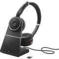 Jabra Evolve 75 Stereo UC inkl. Link 370 + Ladestation