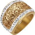 Jacques Lemans Ring Edelstahl vergoldet gelb 9187 54 (17,2)