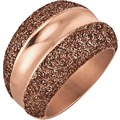 Jacques Lemans Ring Edelstahl vergoldet rot 9185 54 (17,2)