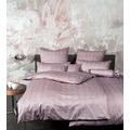Janine Bettwäsche-Garnitur Carmen Interlock-Jersey puderrouge I 135x200, 80x80