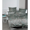 Janine Bettwäsche-Garnitur Interlock-Jersey pastelltürkis weidenkätzchen 135x200, 80x80