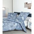 Janine Bettwäsche Interlock-Jersey mondlichtblau Bettwäsche 135X200,Kissenbezug 80x80