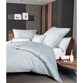 Janine Bettwäsche Mako-Satin himmlisches blau Bettwäsche 135X200,Kissenbezug 80x80
