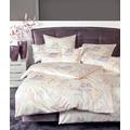 Janine Interlock-Jersey Carmen creme rosa Bettbezug 135x200, 80x80