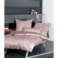 Janine Interlock-Jersey Carmen rosenholz Bettbezug 135x200, 80x80