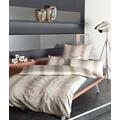 Janine Interlock-Jersey Carmen sand Bettbezug 135x200, 80x80