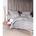 Janine Interlock-Jersey Carmen taupe rosenholz Bettbezug 135x200, 80x80