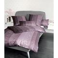 Janine Interlock-Jersey Carmen traube Bettbezug 135x200, 80x80