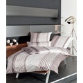 Janine Interlock-Jersey Carmen zartmauve Bettbezug 135x200, 80x80