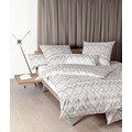 Janine Mako-Satin Messina taupe rosenholz Bettbezug 135x200, 80x80