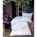 Janine Mako-Soft-Seersucker Tango lavendel Bettbezug 135x200, 80x80