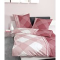 Janine Mako-Soft-Seersucker TANGO rosa rubin 135x200, 80x80