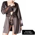Janira Kimono M/l Charm Greta negro L/XL