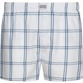 Jockey Everyday Boxer Short white mit blauen Karos 2XL