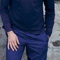 Jockey Everyday Loungewear PANTS WOVEN maritime blu L
