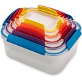 Joseph Joseph Nest Lock - 5-teiliges kompaktes Vorratsdosenset - mehrfarbig
