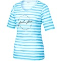 JOY sportswear T-Shirt VIOLET cloud stripes 36