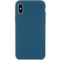 JT Berlin SilikonCase Steglitz, Apple iPhone XS Max, blau cobalt