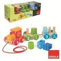 Jumbo Spiele Goula Ziehzug 1-2-3 aus Holz