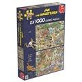 Jumbo Spiele Der Sturm & Die Safari. Puzzle 2 x 1000 Teile