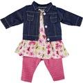 Käthe Kruse Kindergarten Sommer Outfit 39-41 cm