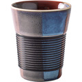 Kahla cupit Becher 0,35 l + Trinkdeckel 10x2 cm MG soft black+colours of nature