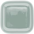 Kahla Abra Cadabra mint-grau Deckelchen eckig 10x10 cm