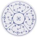 Kahla Fahne Speiseteller 23,5 cm Blau Saks