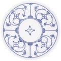 Kahla Glatt Untertasse 14 cm Blau Saks