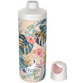 Kambukka Isolierflasche Reno Insulated Paradise Flower MIT GRAVUR (z.B. Namen) Thermo-Flasche 500ml